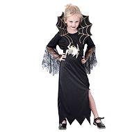 Šaty na karneval – Čierna vdova veľ. L - Detský kostým