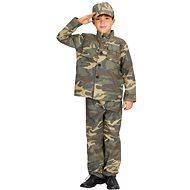 Šaty na karneval – Vojak veľ. S - Detský kostým