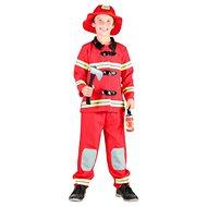 Šaty na karneval - Požiarnik veľ. M - Detský kostým