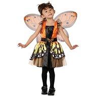Šaty na karneval – Motýlia víla veľ. XS - Detský kostým