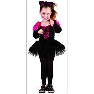 Šaty na karneval – Mačička veľ. XS - Detský kostým