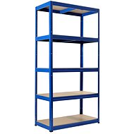 KOVONA FUTUR 1800 × 900 × 450 mm, modrý - Regál