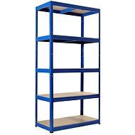 KOVONA FUTUR 1800 × 900 × 600 mm, modrý - Regál