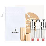 Plniteľný rozprašovač parfumov TRAVALO Refill Atomizer Classic HD Gold Set - Plnitelný rozprašovač parfémů