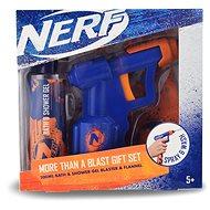 NERF Darčeková súprava Kúpeľový a sprchový gél 200 ml + vodná pištoľ - Detská darčeková sada