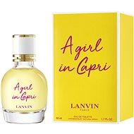 LANVIN A Girl In Capri EdT - Toaletná voda