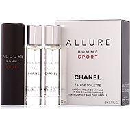 Pánska toaletná voda CHANEL Allure Homme Sport EdT 3× 20 ml - Toaletní voda pánská