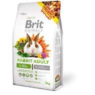 Brit Animals Rabbit Adult Complete 3 kg - Krmivo pre hlodavce