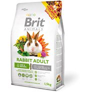 Brit Animals Rabbit Adult Complete 1,5 kg - Krmivo pre hlodavce