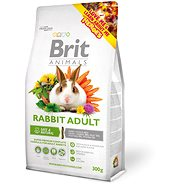 Brit Animals Rabbit Adult Complete 300 g - Krmivo pre hlodavce
