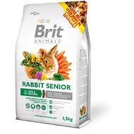 Brit Animals Rabbit Senior Complete 1,5 kg - Krmivo pre hlodavce