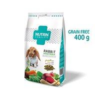 Nutrin Complete GF Králik Vegetable 400 g - Krmivo pre hlodavce