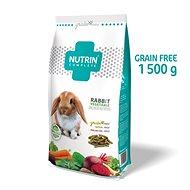 Nutrin Complete GF - Králik Vegetable, 1 500 g - Krmivo pre hlodavce