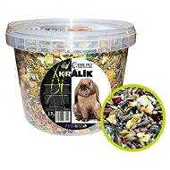 Fine Pet Trpasličí Králik Premium, vedro 1,7 kg - Krmivo pre hlodavce