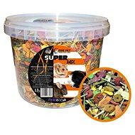 Fine Pet Super Mix Hlodavec, vedro 1,2 kg - Krmivo pre hlodavce
