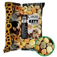 Fine Pet Zeleninové krokety 12 × 100 g - Maškrty pre hlodavce