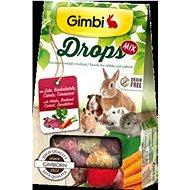 Gimbi Drops Červená repa 50 g - Maškrty pre hlodavce