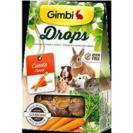 Gimbi Drops Mrkva 50 g - Maškrty pre hlodavce