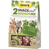 Gimbi Snack Plus Mignon mix 250 g - Maškrty pre hlodavce