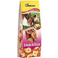 Gimbi Snack It Jahoda a banán 60 g - Maškrty pre hlodavce