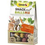 Gimbi Snack Plus Guľôčky mix 50 g - Maškrty pre hlodavce