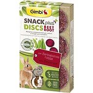 Gimbi Snack Plus Discs červená repa 50 g - Maškrty pre hlodavce