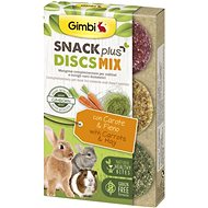 Gimbi Snack Plus Discs mix 50 g - Maškrty pre hlodavce