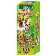 Perfecto Nager Sticks medové 2× 56 g - Doplnok stravy pre hlodavce