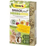Gimbi Snack Plus Marigold bylinky a banán 50 g - Maškrty pre hlodavce