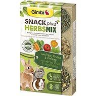 Gimbi Snack Plus Bylinky mix 50 g - Maškrty pre hlodavce