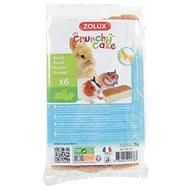 Zolux Crunchy Cake jablko/banán 75 g - Maškrty pre hlodavce