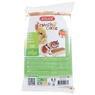 Zolux Crunchy Cake mrkva 75 g - Maškrty pre hlodavce