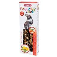Zolux Pochúťka CRUNCHY STICK pre králiky mrkva/púpava - Maškrty pre hlodavce