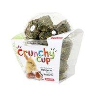 Zolux Pochúťka CRUNCHYCUP lucerna/mrkva 200 g