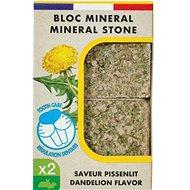 Zolux Minerálny kameň EDEN púpava 2× 100 g - Doplnok stravy pre hlodavce