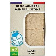 Zolux Minerálny kameň EDEN prírodný 2× 100 g - Doplnok stravy pre hlodavce