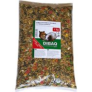 Dibaq Zrniny vrecko Pet Hlodavec m 1 kg - Krmivo pre hlodavce