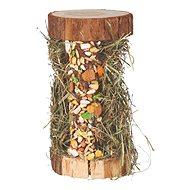 Trixie Drevená veža so senom z horskej lúky 13 × 17 × 13 cm, 110 g