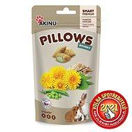 Akinu Pillows vankúšiky s bylinkami pre hlodavce 40 g