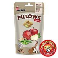 Akinu Pillows vankúšiky sjablkom pre hlodavce 40 g
