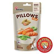 Akinu Pillows vankúšiky s mrkvou pre hlodavce 40 g