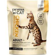 PrimaCat Kurča pre dospelé mačky, kastrované a žijúce vnútri  400 g