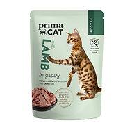 PrimaCat Kapsička, Filety s jahňacím v šťave, 85 g