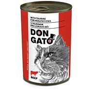 Don Gato Hovädzie 415 g - Konzerva pre mačky