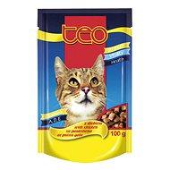 TEO Hydinová 100 g - Kapsička pre mačky