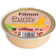 Fitmin Cat Purity alutray Chicken 85 g - Konzerva pre mačky