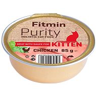 Fitmin Cat Purity alutray Kitten Chicken 85 g - Konzerva pre mačky