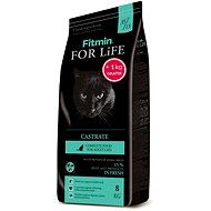 Fitmin Cat For Life Castrate 8 kg + 1 kg