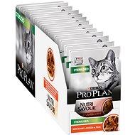 Kapsička pre mačky Pro Plan Cat Sterilised s hovädzím 26× 85 g