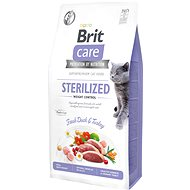 Brit Care Cat Grain-Free Sterilized Weight Control, 7 kg
